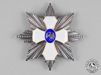 Iceland, Kingdom. An Order of the Falcon, Grand Cross Star, by Christian F. Heise, c.1925