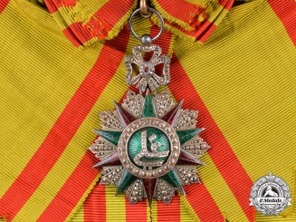 Tunisia, French Protectorate. An Order of Glory, I Class Grand Cross, c.1890