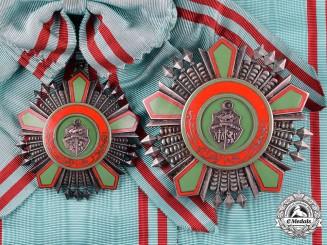 Tunisia, Republic. An Order of the Republic, Grand Cross, by  Arthus Bertrand, c.1965