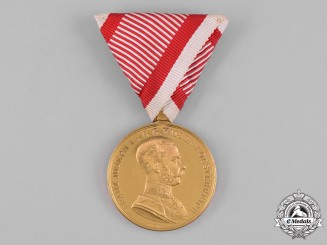 Austria, Imperial. A Bravery Medal, Gold Grade, c. 1916