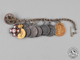 Austria, Imperial. An Extensive Miniature Merit Award Chain