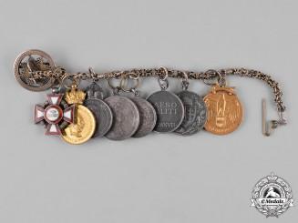 Austria, Imperial. An Extensive Miniature Merit Award Chain