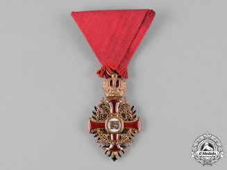 Austria, Imperial. An Order of Franz Joseph, Knight, by Wilhelm Kunz, c.1918