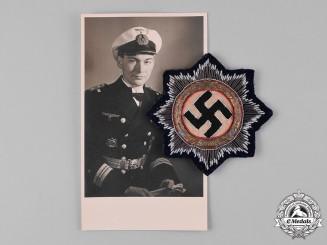 Germany, Kriegsmarine. A German Cross in Gold, to Lieutenant-Commander Friedrich Roll