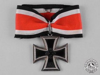 Germany, Wehrmacht. A Knight's Cross of the Iron Cross 1939, by C.E. Juncker, Attributed to Fallschirmjäger Feldwebel Bruno Sassen