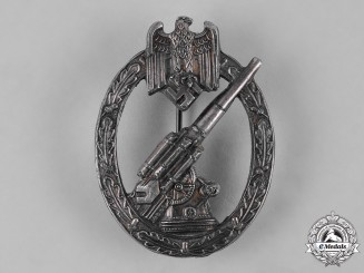 Germany, Heer. An Army Flak Artillery Badge, by C.E. Juncker