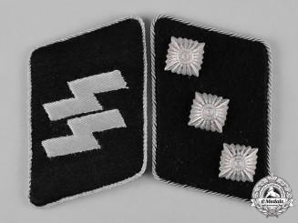 Germany , Waffen-SS. A Pair of Untersturmführer Collar Tabs