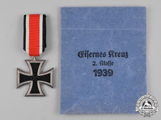 Germany, Wehrmacht. A 1939 Iron Cross II Class by Klein & Quenzer