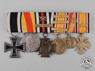 Germany, Imperial. An First War & China Service Medal Bar