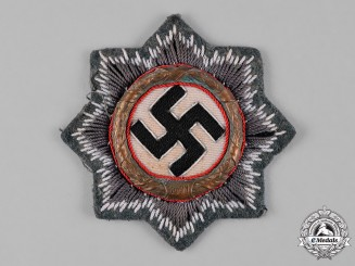 Germany, Wehrmacht. A German Cross in Gold, Cloth Version, Heer Issue