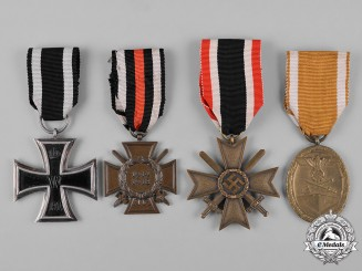 Germany. A Lot of First & Second War Period Medals and Awards