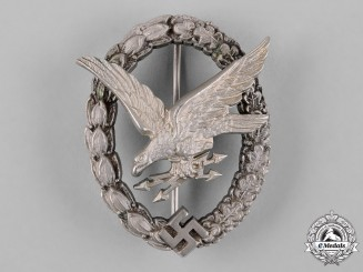 Germany, Luftwaffe. An Air Gunner Badge, by Imme & Sohn