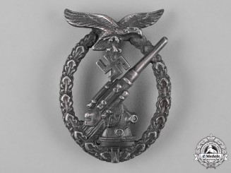 Germany, Luftwaffe. A Flak Badge by C.E. Juncker