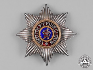 Hesse-Darmstadt, Grand Duchy. An Order of the Golden Lion, Grand Cross Star, c.1900