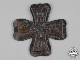 "Germany, Imperial. An ""First Strike"" 1870 Grand Cross of the Iron Cross Core"