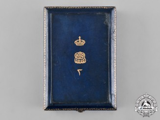 Egypt, Kingdom. An Order of the Nile, III Class Commander Case, by Lattes