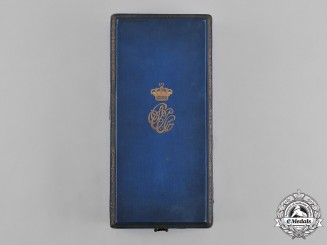 Egypt, Kingdom. An Order of the Nile, I Class Grand Cross Case, by Lattes