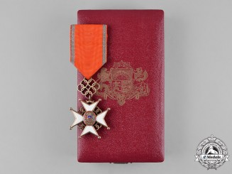 Latvia, Republic. A Cross of Recognition, IV Class Badge, c.1938