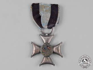 Poland, Kingdom. An Order of Military Virtue, V Class Silver Cross, c.1800