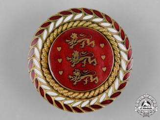 Denmark, Kingdom. An Officer's Cap Badge, c.1914