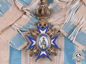 Serbia, Kingdom. An Order of St. Sava, I Class Grand Cross, c.1925