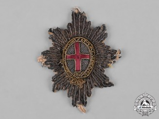 United Kingdom. An Officer's Coldstream Guards Embroidered Badge, c.1820