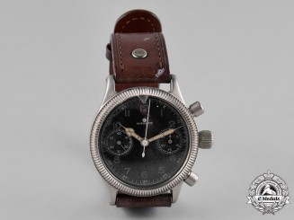 Germany, Luftwaffe. A Tutima Chronograph Watch