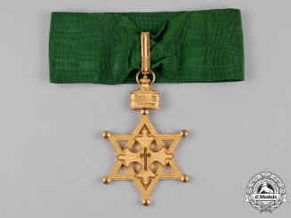 Ethiopia, Empire. An Order of the Seal of Solomon, Commander.