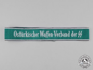 Germany, SS. An Osttürkische Waffen-Verband of the SS Cufftitle