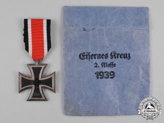Germany, Wehrmacht. A 1939 Iron Cross, II Class, with Envelope