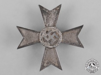 Germany, Third Reich. A War Merit Cross, I Class, by Friedrich Orth