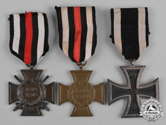 Germany, Imperial. A Lot of First World War Period Decorations