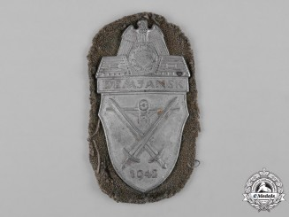 Germany, Wehrmacht. An Army Issued Demjansk Shield