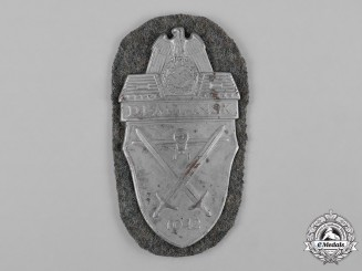 Germany, Wehrmacht. A German Army Issued Demjansk Shield