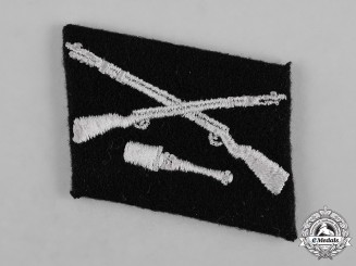Germany, SS. A Single Waffen-SS Grenadier Division Dirlewanger Collar Tab