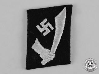 Germany, SS. A 13th Waffen-Gebirgs-Division der SS Handschar Collar Tab