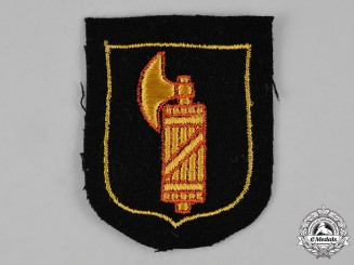 Germany, SS. An Italian Waffen-SS Foreign Volunteer Service Sleeve Insignia