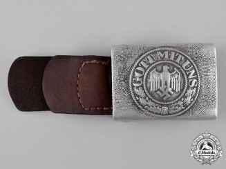 Germany, Heer. A German Army EM/NCO Belt Buckle, c.1940