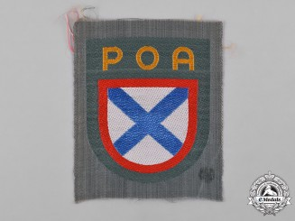 Germany, Wehrmacht. A Russian Liberation Army Sleeve Shield