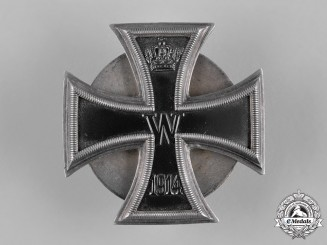 Germany, Imperial. A 1914 Iron Cross I Class to Leutnant Ernst Schaller