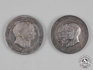 Germany, Imperial. A Pair of Commemorative Medallions
