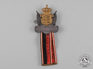 Germany, Imperial. A Württemberg Veteran's Association Badge by W. Mayer and F. Wilhelm