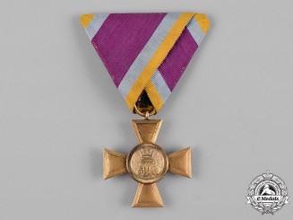 Mecklenburg-Schwerin, Grand Duchy. A 25-Year Military Long Service Cross