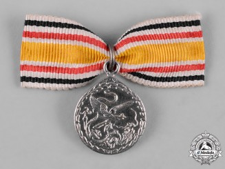 Germany, Imperial. A Miniature Boxer Rebellion Campaign Medal
