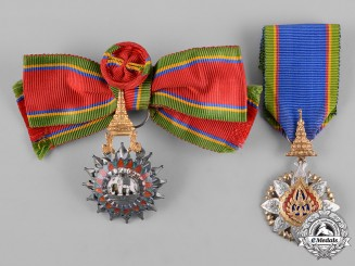Thailand, Kingdom. Two Awards & Decorations