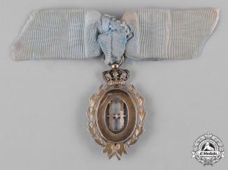 Serbia, Kingdom. A Queen Natalie Medal, II Class Silver Grade, c.1900