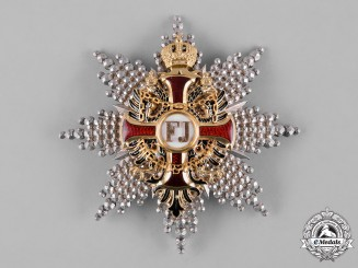 Austria, Imperial. An Order of Franz Joseph in Gold, Grand Cross Star, by V. Mayer's Söhne