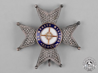 Spain, Kingdom. A Military Order of St. Ferdinand, Officer's Star, c.1880
