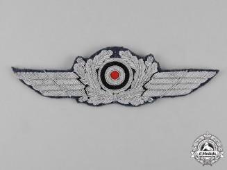 Germany, Luftwaffe. A Luftwaffe Officer's Visor Cap Cockade and Wreath