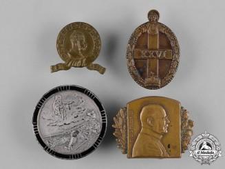 Austria-Hungary, Imperial. A Lot of Patriotic & Regimental Cap Badges